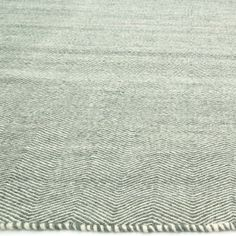 Loloi Harper Light Blue Hand Woven Wool Rug @Layla Grayce