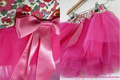 patron jupe swan en tulle (et modèle robe)