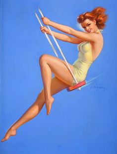 Jules Erbit (1889-1968) pintor de origen húngaro - Swing Time