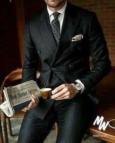 Mens Fashion Suits, Mens Suits, Men's Fashion, Style Costume Homme, Traje Casual, Mode Costume, Designer Suits For Men, Formal Suits, Men Formal