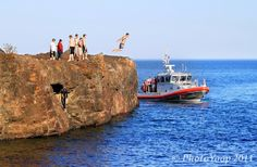 Black Rocks, Marquette........I've jumped off, have you?