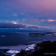 Sugar loaf Mountain looking over Lake Superior and Marquette, MI. by Greg Kretovic #puremichigan