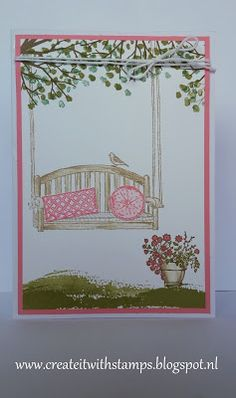 Create it with stamps! Stampin'Up! : Stampin'Up! Sitting there