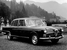 FNM Fábrica Nacional de Motores produced in Brasil the Alfa Romeo 2000 under the model brand JK the initials of then president of Brasil Juscelino Kubitchek. It had the Alfa Romeo 1900 derived engine, still from the pre-aluminum era engines at Alfa Romeo.