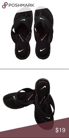 Nike comfort flip flops size 9 *Size: 9 true fit* -Extremely comfortable with foam foot support and padding -Worn once Nike Shoes Athletic Shoes