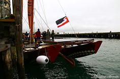 Haunui Waka in Bluff. April 2014.