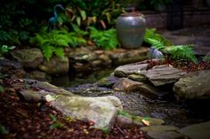 Water Features - Coogan's Landscape Design - Charlotte, NC