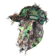 Hunting- KLOAK Camouflage Cap, Camo Hunting Hat with Front Model Face Mask…