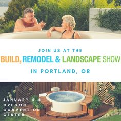 Right now is the perfect time to start planning home and yard improvement projects - and nothing improves your yard faster and easier than a Softub!   If you are in or around Portland, OR join us this weekend at the Portland Build, Remodel & Landscape Show for lots of great ideas and info. You can find us at Booth #251.  Find more info at: www.homeshowcenter.com/overview/portland