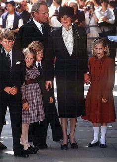 The McCorquodale family (Diana's sister)