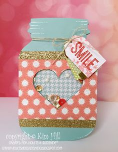 Violets & Sunshine: Rose Blossom Blog Hop: The Artistry of a Shaker Card... #ctmhartistry #ctmhzoe