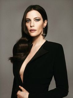 """Fatale Attraction"" (+) L'Express Styles, March 2012 photographer: Mariano Vivanco Liv Tyler Emporio Armani, Steven Tyler, Most Beautiful Women, Beautiful People, Stealing Beauty, Actrices Hollywood, Glamour, Sarah Michelle Gellar, Mannequins"