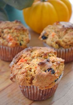 Pumpkin, Squash or Sweet Potato Muffins