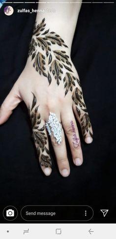 Latest Henna Designs, Mehndi Designs Book, Mehndi Designs For Beginners, Stylish Mehndi Designs, Dulhan Mehndi Designs, Mehndi Designs For Fingers, Mehndi Design Pictures, Beautiful Mehndi Design, Henna Tattoo Designs