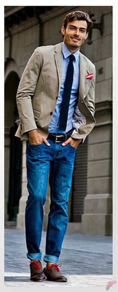 Guide for Men Who Wants to Wear Sport Coat with Jeans | Fashion ...