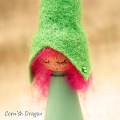 Ella  Candy Floss Girl Elf by CornishDragon on Etsy, £9.00