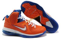 best service 63b56 50cbf half off Lebron 9 Shoes, Nike Lebron, Blue Orange, Nike Basketball, Orange