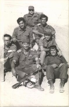 Israeli Soldiers, IDF 1973,    Instant Download of Original Photo, Black & White Photo, Vintage Photo, israeli Army, Military by foundphotogallery on Etsy
