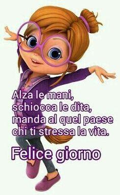 Italian Quotes, Good Morning Good Night, Emoticon, Scooby Doo, Smileys, Ely, Languages, Fantasy, Album