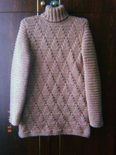 Узоры спицами. Обсуждение на LiveInternet - Российский Сервис Онлайн-Дневников Knitwear Fashion, Winter Sweaters, How To Purl Knit, Diy Crochet, Crochet Baby, Baby Knitting, Knitting Stiches, Knitting Patterns Free, Crochet Patterns
