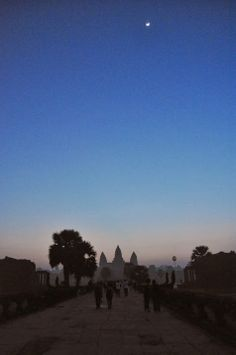 Angkor Wat at sunrise was like a dream. Just beautiful. #cambodia