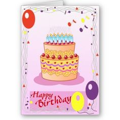 #cards #birthday #zazzle #elenaindolfi Happy Birthday Greeting Cards by elenaind
