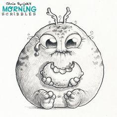 https://flic.kr/p/Jc3z6j | Lemon Face #morningscribbles