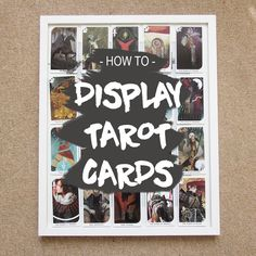 HOW TO: DISPLAY TARO