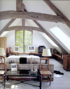 Loft Living Room.