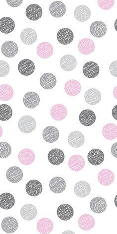 Removable Wallpaper Polka dot wallpaper by BCMagicWallpaper