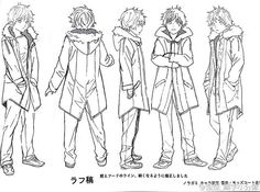 Yukine character design