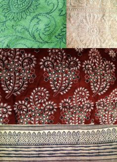Reveling in the textile traditions of India!  #textiles #India #sari #red