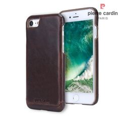 Coque iPhone 7 Cuir Pierre Cardin