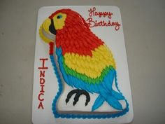 Parrot cake template - Google Search