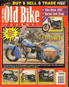1953 Indian Chief & the Indian Motorcycle Company& last stand Vintage Indian Motorcycles, Motorcycle Companies, Assembly Line, Last Stand, Old Bikes, Old Ads, Motorbikes, Yamaha, Magazines