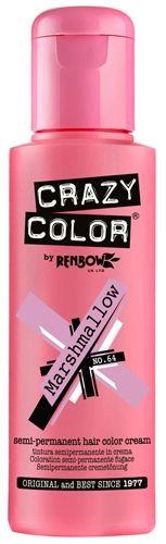 coloration crazy color marshmallow teinture chamallow cheveux semi permanente pour une coiffure rock punk - Coloration Rose Permanente