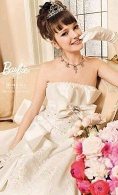 Other Kuraudia Barbie Bridal 1016 - Off White 2 find it for sale on PreOwnedWeddingDresses.com