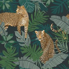 On Safari - Leopard by Petroula Tsipitori Seamless Repeat Vector Royalty-Free Stock Pattern View On Safari - Leopard Animals/Birds Design by Petroula Tsipitori. Available in Vector, Seamless Repeat Royalty-Free. Print Wallpaper, Pattern Wallpaper, Safari, Jungle Pattern, Leopard Animal, Jungle Animals, Bird Design, Stuffed Animal Patterns, Vector Art