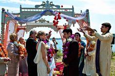 Fusion Italian Indian Wedding