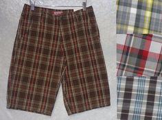 Arizona Boys Shorts chino cotton plaid flat front kids size 8H, 18, 20 NEW 10.99 http://www.ebay.com/itm/Arizona-Boys-Shorts-chino-cotton-plaid-flat-front-kids-size-8H-18-20-NEW-/252523126485?ssPageName=STRK:MESE:IT