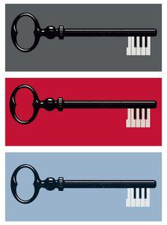 Get it? Piano KEYS.