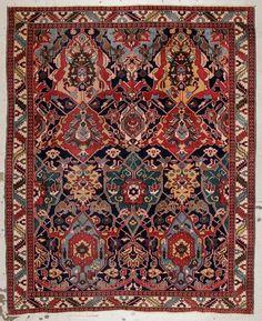 Semi-Antique Caucasian Style Dragon Rug, Turkey Lot 215