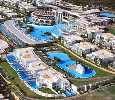 Rhodes, Greece - Atrium Prestige Thalasso Spa & Villas Atrium, Got To Be There, One Fine Day, The Prestige, Hotels, Greece, Spa, Mansions, House Styles