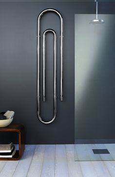 Scirocco H electric towel warmer: Graffe