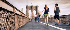 Bloggers and runners (and walkers, joggers, and hoppers) of the world, unite!