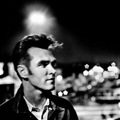 Morrissey photographed by Anton Corbijn in Sussex, UK, 1989