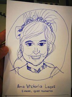 Armando,mi amigo de Mexico me hizo con birome el dibujo de mi perfil!@anatonia @patygallardo