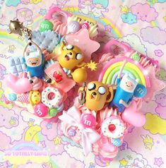Decoden Adventure Time Phone Cases ~ Made by sototallylame @ esty ~ http://www.etsy.com/people/sototallylame