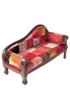 Sofa Divan Velvet Patch