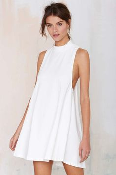 Nasty Gal White Lie Dress | Shop Clothes at Nasty Gal!
